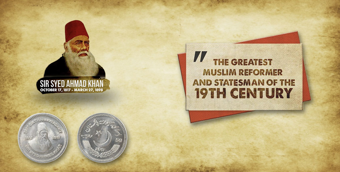 Sir Syed Ahmed Khan Commemorative Coin