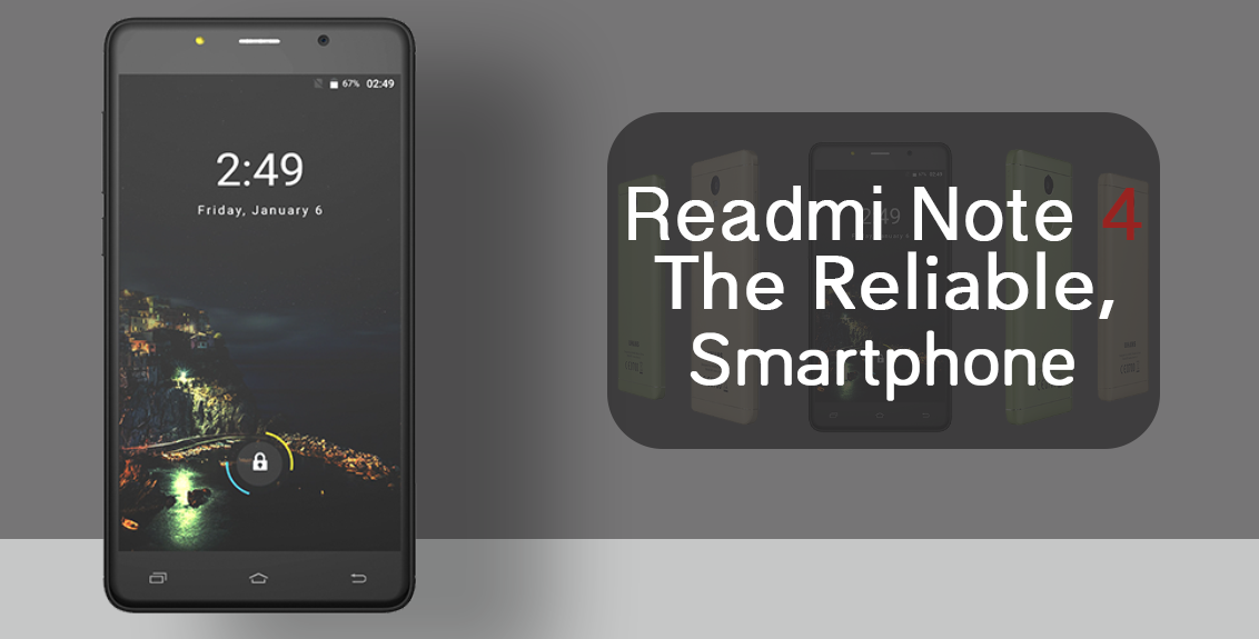Redmi Note 4 Smart Phone