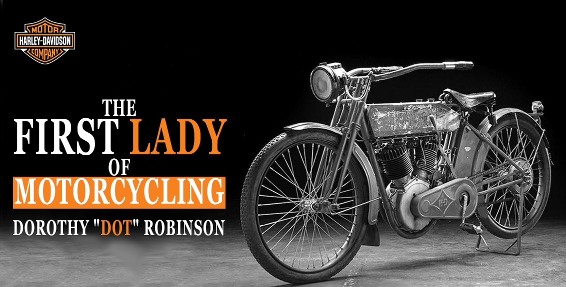 The First Lady of Motorcycling