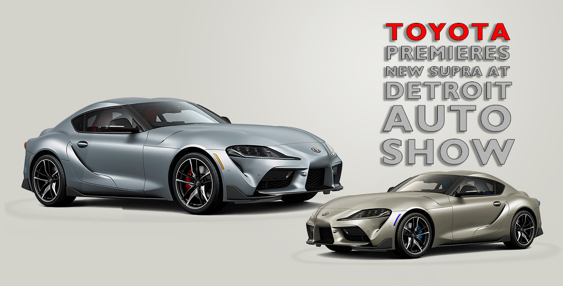 Toyota Premieres New Supra at Detroit Auto Show