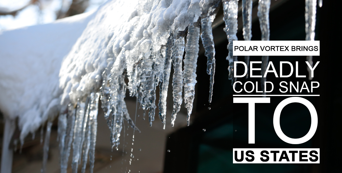 deadly cold snap to US states