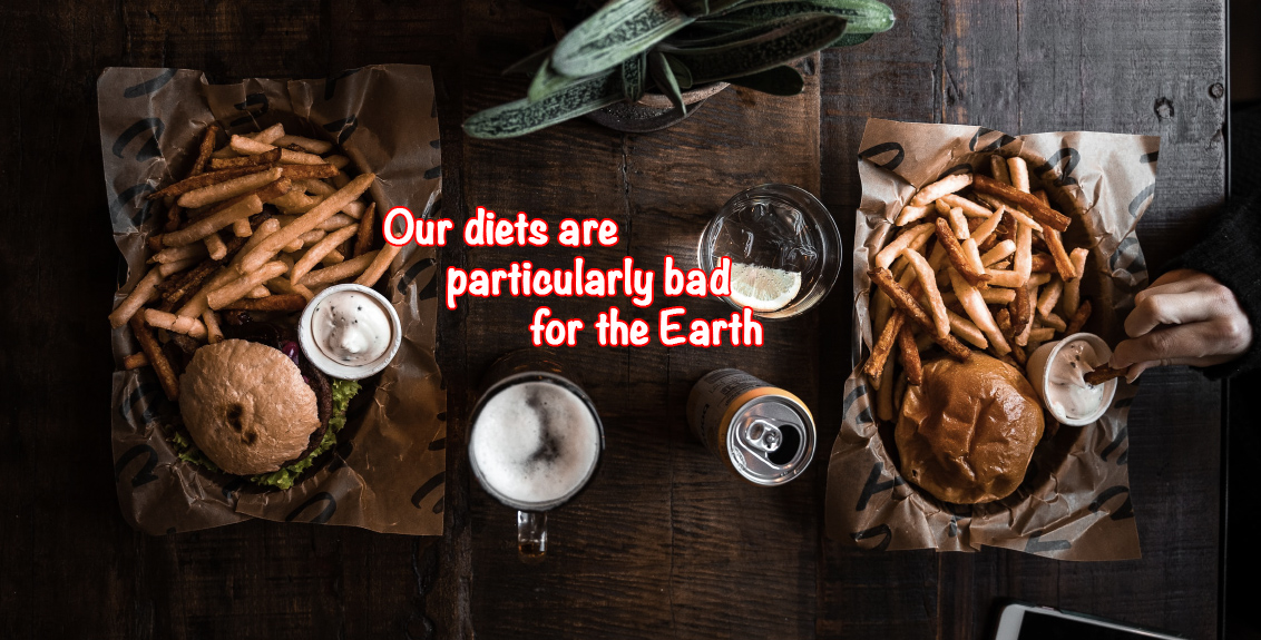 our diets are bad for Earth